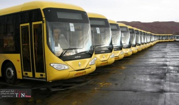 طراحی۳۰خط شبانه اتوبوسرانی / ورود ۴اتوبوس هیبریدی به خط خاوران
