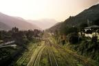 برگزاری مانور امداد و نجات به قطار دچار آتشسوزی در راهآهن شمال