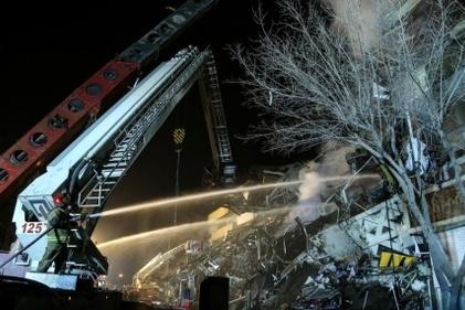 گزارش تصویری / عملیات امداد و نجات ساختمان پلاسکو