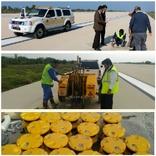 آغاز بهسازی سیستم روشنایی باند 31 راست فرودگاه بوشهر