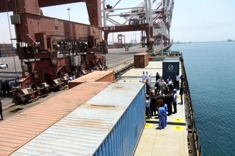 صادرات سومین کشتی کلینکر از چابهار به مقصد قطر