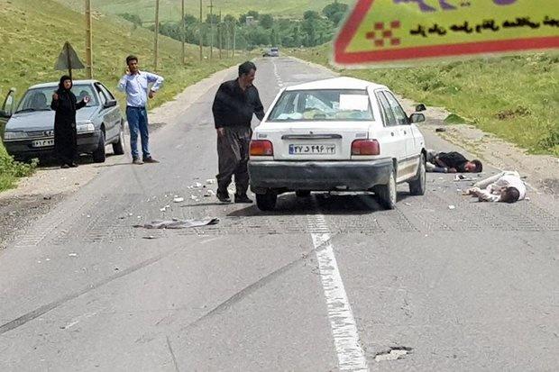 سوانح رانندگی در قزوین یک کشته بر جای گذاشت