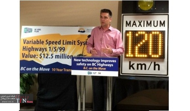 British Columbia installs variable speed signs to reduce weather - related crashes