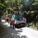 آسفالت راه روستایی به طول بیش از ۱/۵ کیلومتر در مازندران