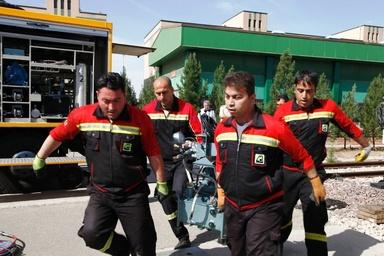 برگزاری مانور واکنش در متروی تهران وحومه