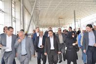 بازدید معاون وزیر راه از پروژههای فرودگاهی اصفهان