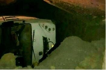 علت واژگونی اتوبوس در محور یزد-کرمان عدم تعادل راننده اعلام شد