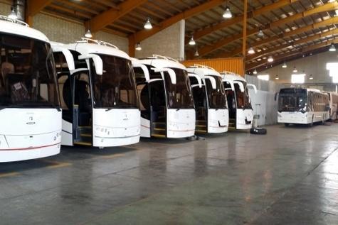 هر برند اتوبوس، قطعات را فقط برای مصرف خود تولید میکند نه برای برندهای دیگر