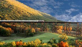 مسیرهای ریلی شگفتانگیز با قطارهای کلاسیک و قدیمی