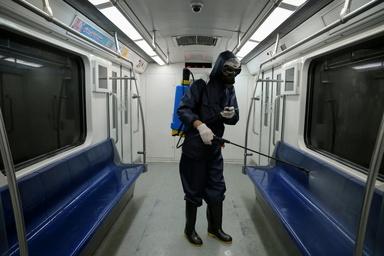 عدم توقف ضدعفونی مترو تا عادی شدن شرایط کرونا