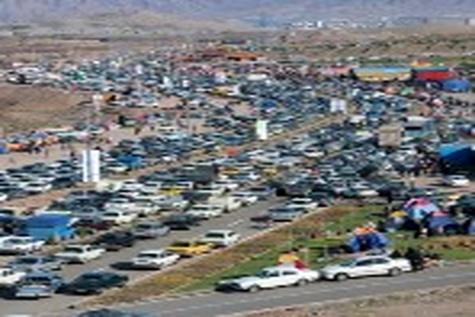 بیش از سه و نیم میلیون نفر ارس را مقصد گردش نوروزی انتخاب کردند