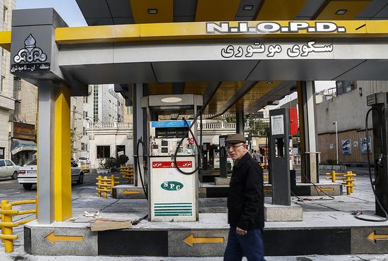 تصاویر| تخریب اموال عمومی در خیابان پیروزی تهران