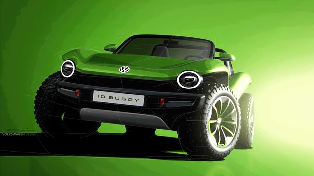 Volkswagen I.D. Buggy Concept Shows Its Groovy Style In Geneva