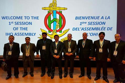 تصویب دیدگاه های ایران در اولین جلسه مجمع عمومی سازمان بین المللی هیدروگرافی (IHO)