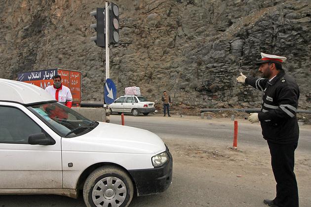 جاده هراز روزهای ۳۰ و ۳۱ فروردین مسدود است
