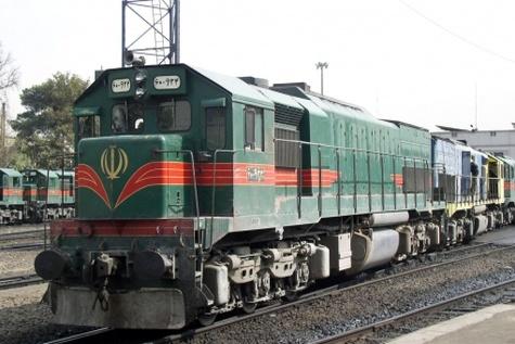 خروج قطارباری راه آهن اهواز - اندیمشک رابست