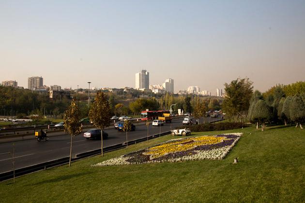 تجمع موقتی آلایندهها در هوای تهران