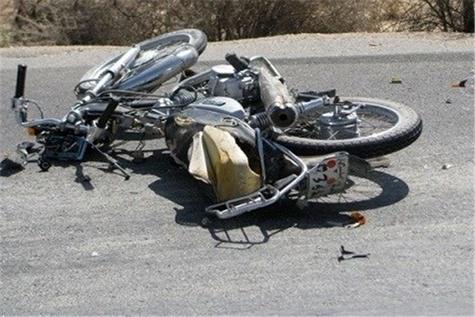 مرگ موتورسوار در جاده رودان -بندرعباس