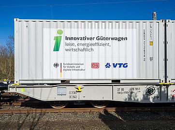 Innovative wagons on test