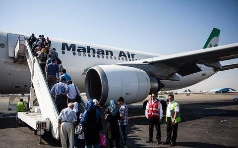جابهجایی بیش از سه میلیون و 800 هزار مسافر در فرودگاهها