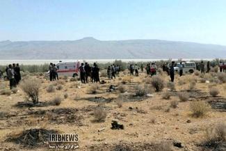 گزارش تصویری / سقوط سوخو ۲۴ ارتش