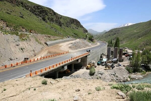 مسیر رفت و برگشت جاده هراز تا اطلاع ثانوی مسدود است