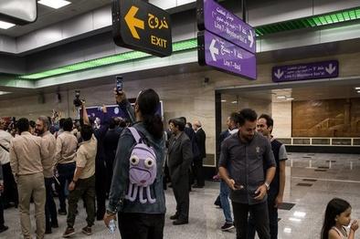 اعزام قطارهای فوقالعاده به خطوط متروی تهران