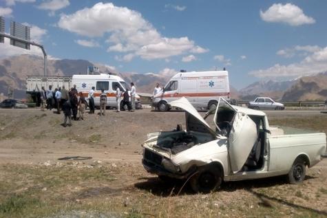 یک هزار و ۲۹۷ مصدوم و ۱۳ کشته در سوانح رانندگی کهگیلویه وبویراحمد