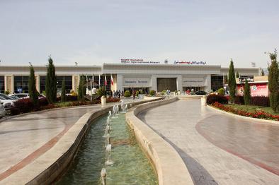 جابهجایی آنتن سیستم سایت مانیتور رادار فرودگاه شیراز