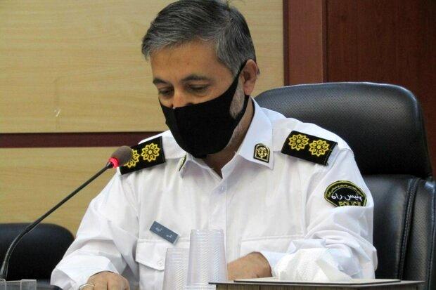رئیس پلیسراه استان سمنان:تصادفات جادهای منجر به فوت در استان سمنان ۲۰ درصد کاهش داشت