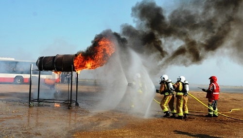 برگزاری موفق تمرین کامل طرح اضطراری در فرودگاه اردبیل