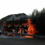 در تصادف تریلی و اتوبوس هر دو راننده مقصراند