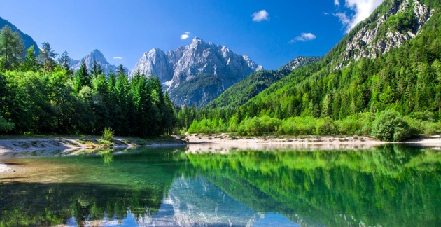 The European countries that have the highest rated national parks