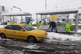 آمادگی شهرداری تهران برای بارش برف و باران در تهران