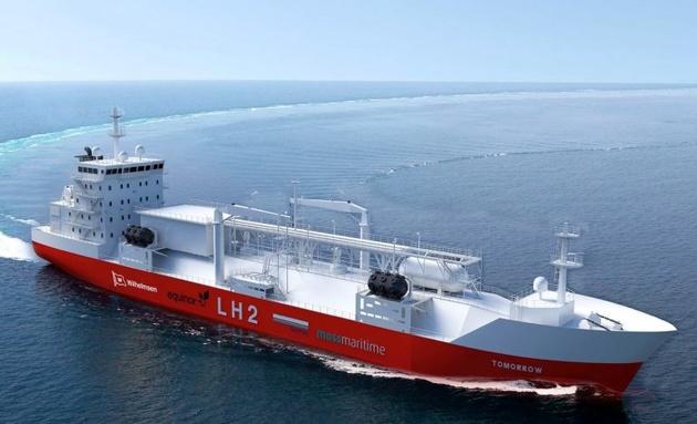 New Liquefied Hydrogen Bunker Ship Design Unveiled