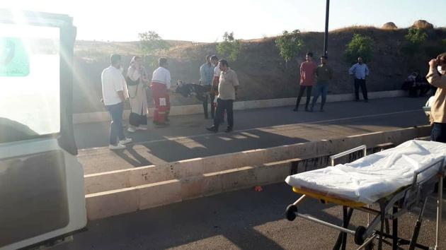 حادثه در جاده باراجین