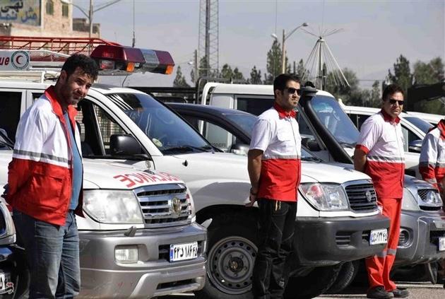 فعال شدن ۱۳۰۰ پایگاه هلال احمر با افزایش مسافرتهای برونشهری