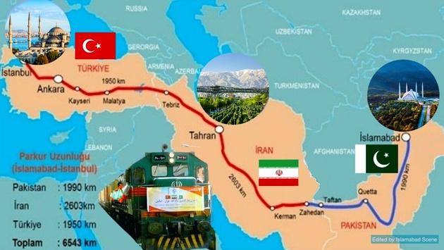 آیا قطار «اکو» بین اسلامآباد-تهران-استانبول به حرکت در می آید؟