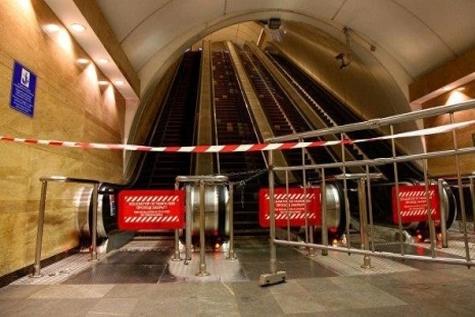 تعطیلی مجدد ایستگاه متروی سن پترزبورگ
