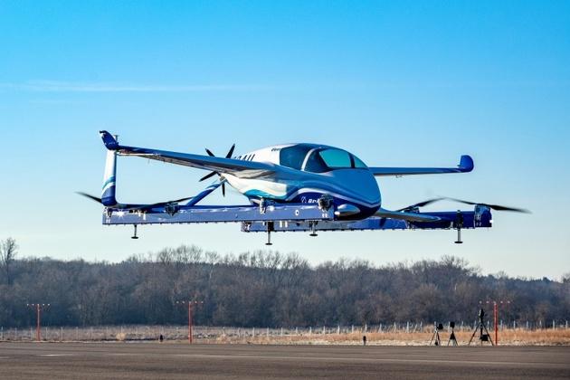Boeing's autonomous passenger air vehicle makes maiden flight