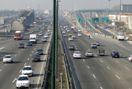 2 تصویر قدیمی از آزاد راه تهران-کرج