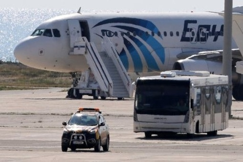 EgyptAir Flight Hijacked and Diverted to Cyprus