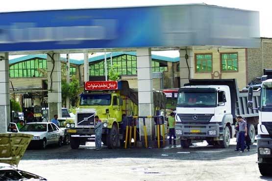سهم رانندگان کامیون از گازوئیل ارزان؛ کرایه کم، ماک جنگی و بیماری