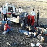 تصادف مرگبار در اردستان 2 کشته و 10 مصدوم برجای گذاشت