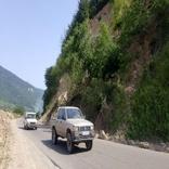 جاده های مازندران همچنان زیر بار خرابی سیلاب