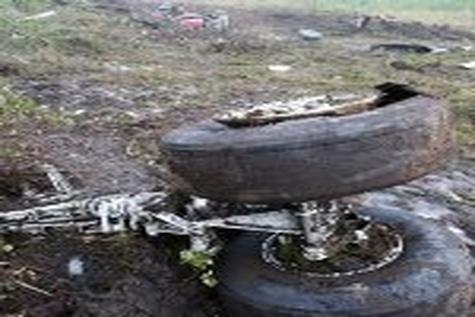 خلبان سانحه سقوط فرودگاه پیام درگذشت
