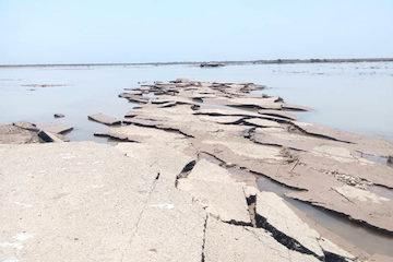 احداث جاده دسترسی به روستای عطیش در خوزستان آغاز شد