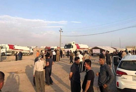 فیلم| ازدحام بیش از 700 کامیون در مرز پرویز خان