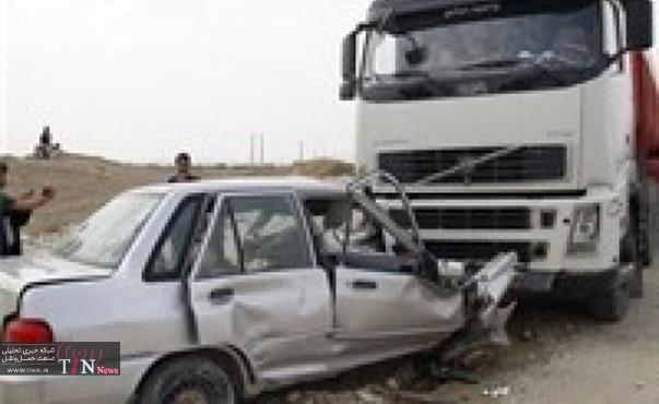 کاهش ۱۳ درصدی تصادفات در قزوین