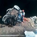 تصادف سمند با تریلر در جاده پلدختر – اندیمشک یک کشته بر جا گذاشت